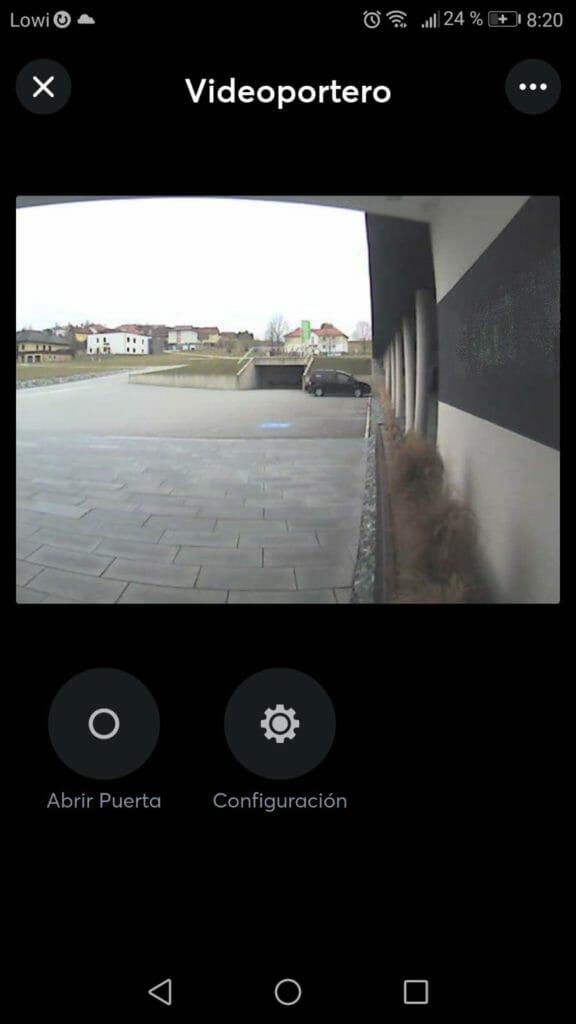 videoportero domotica