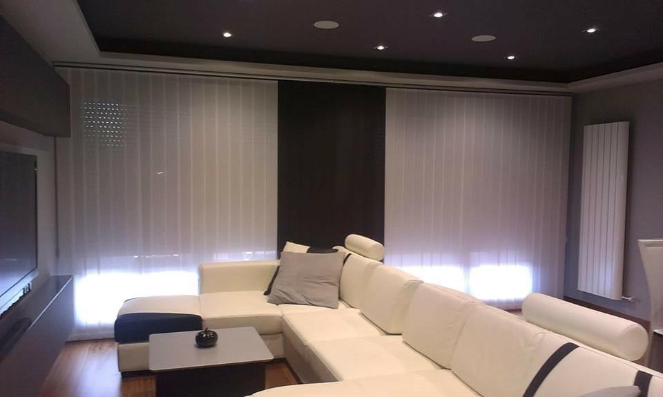 salon con domotica