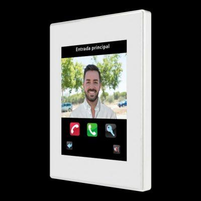 pantalla domotica y control videoportero